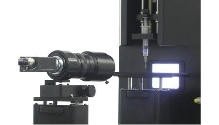 動画対応CCDカメラ/自動認識ソフトを標準装備